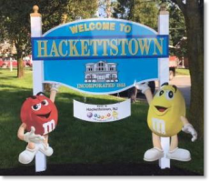 Hackettstown Sign